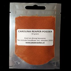 Carolina Reaper Chilipoeder / 10 gram