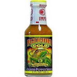Iguana Gold Habanero Island Pepper Sauce
